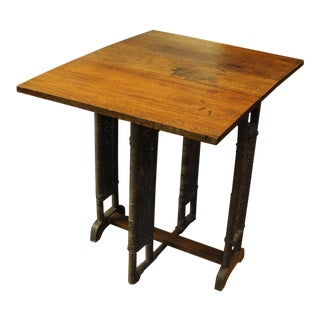 Late 19th Century Antique Sutherland Drop Leaf Table For Sale