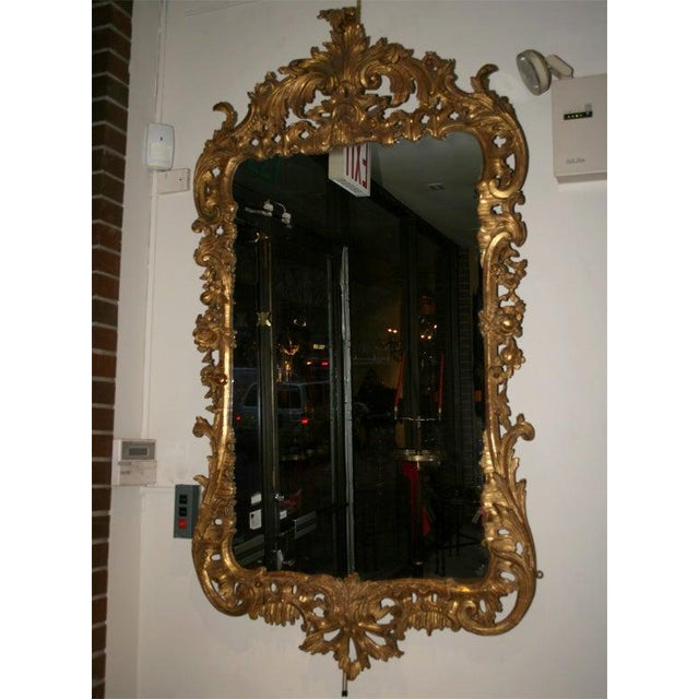 Traditional George II Giltwood Mirror, Circa 1750 For Sale - Image 3 of 9