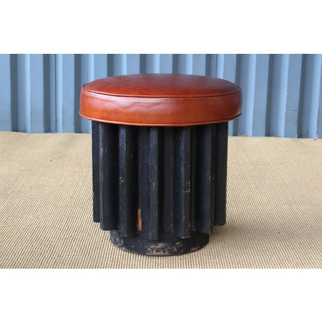 Industrial Gear Cog Stools, California, 1940s For Sale In Los Angeles - Image 6 of 11
