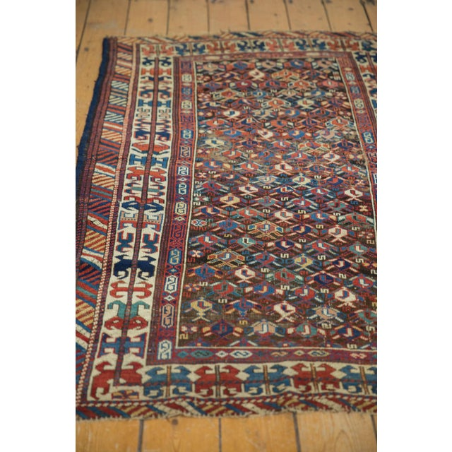 """Late 19th Century Antique Caucasian Rug - 3'2"""" X 5'5"""" For Sale - Image 5 of 9"""