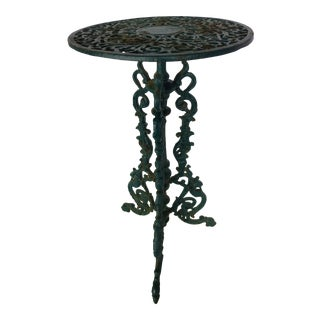English Cast Iron Plant Stand For Sale