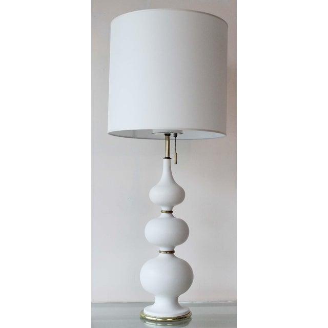 gerald mid lightolier tripod table thurston vintage lamps century yo pair brass lamp