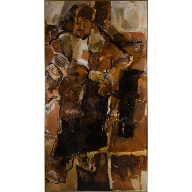 Abstract Expressionist Diptych by Hilda O'Connell, 1965 For Sale In New York - Image 6 of 8