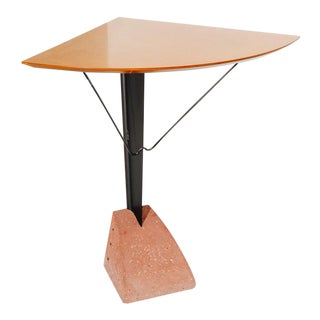 Memphis-Inspired Corner Table For Sale