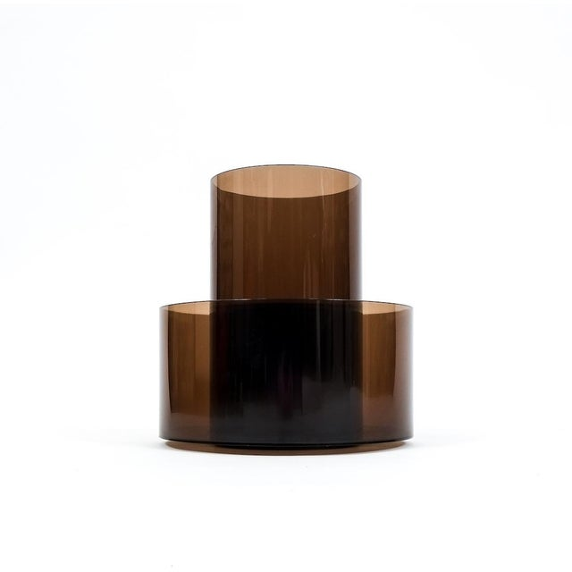 Lucite Cini&Nils Minimalistic Rotating Magazine Rack For Sale - Image 4 of 5
