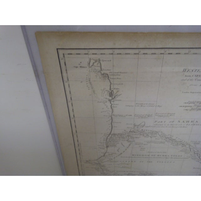 Vintage 1788 Map of the Western African Coast For Sale - Image 7 of 8