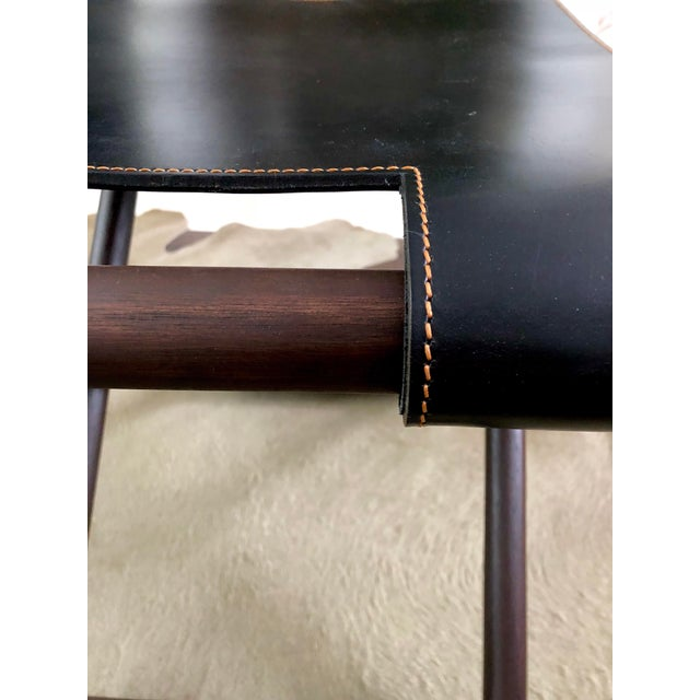 2010s Christian Liaigre Bazane Stool for Holly Hunt (30 Available) For Sale - Image 5 of 12