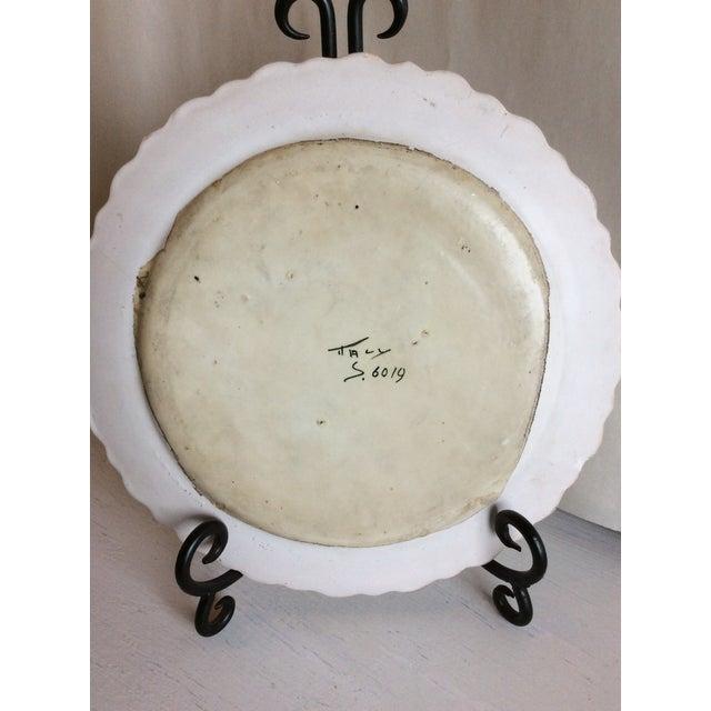 1940s 1940s Trompe l'Oeil Escargot Plate For Sale - Image 5 of 7