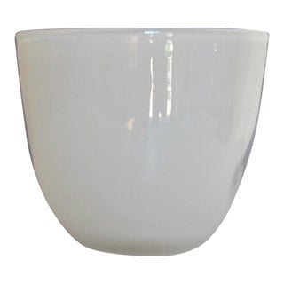 Milk Glass Vase For Sale