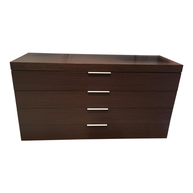 Italian Oak 3-Drawer Dresser - Image 1 of 6