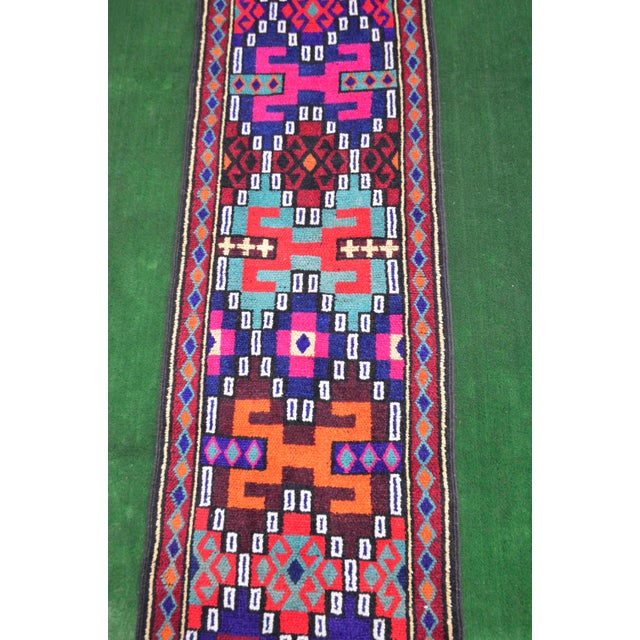 Long Runner Kurdish Hand-Knotted Rug - 2′9″ × 15′5″ - Image 8 of 10
