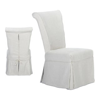 Sarreid Ltd Corseted Side Chairs - Set f 2 For Sale
