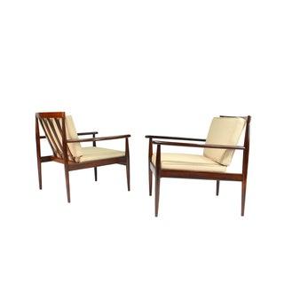1960s Rino Levi Brazilian 1960s Jacaranda Armchairs-a Pair Preview