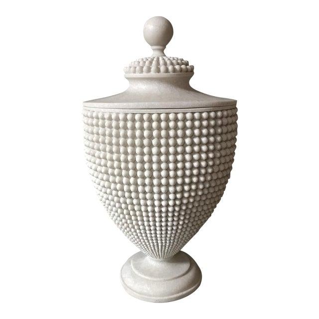 Unique Geometric Urn - Image 1 of 5