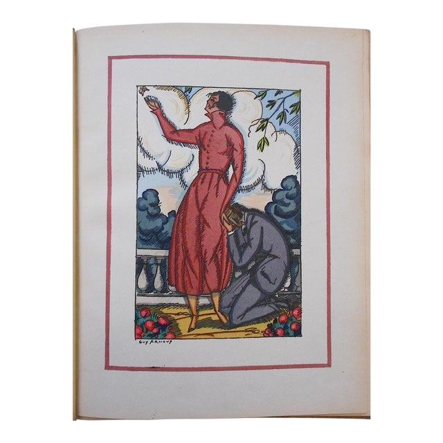 """Vintage Ltd. Ed. Pochoir Images By Guy Arnoux""""Les Femmes De Ce Temps"""" France 1920 For Sale"""