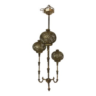 Vintage Bohemian Chandelier For Sale