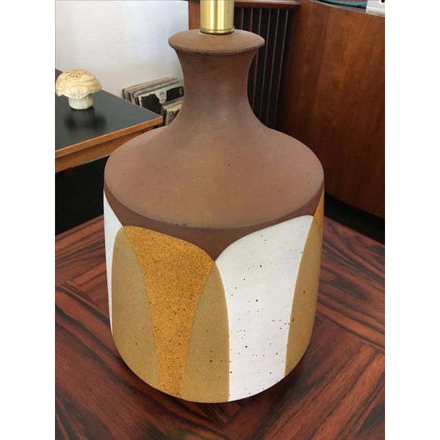 Ceramic Flame Series Lamp by David Cressey - Image 4 of 5