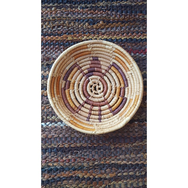Native American Style Hand Woven Basket - Image 5 of 5