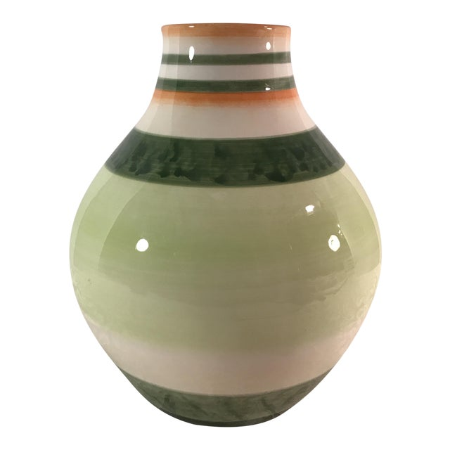 Fitz & Floyd Ceramic Vase - Image 1 of 7