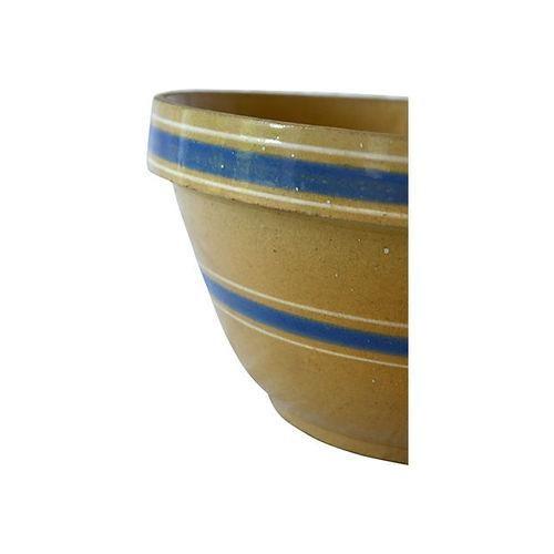 Vintage Stoneware Farmhouse Bowl - Image 2 of 3