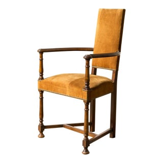19th Century Renaissance Style Chatter Chair For Sale