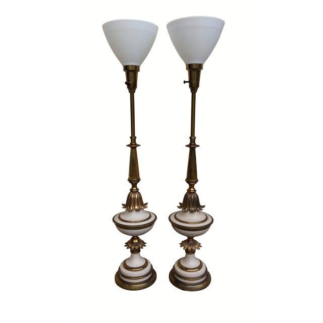 Art Deco Lamps - Pair - Image 1 of 9