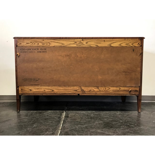 Davis Cabinet French Provincial Solid Cherry Dresser - Image 7 of 11