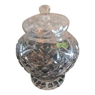 Vintage Waterford Ginger Jar For Sale