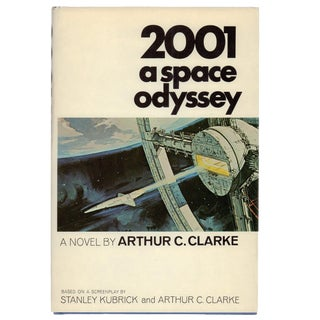 """1968 """"First Edition, 2001 a Space Odyssey"""" Collectible Book For Sale"""
