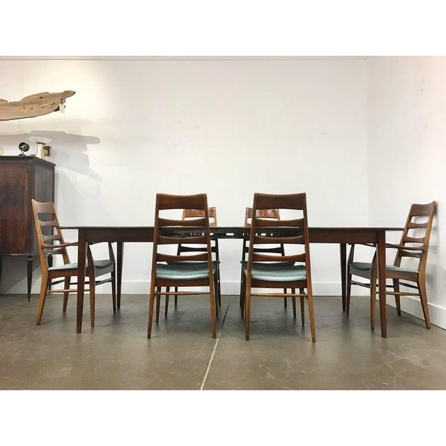 Mid-Century Heywood Wakefield Dining Set - Image 6 of 10