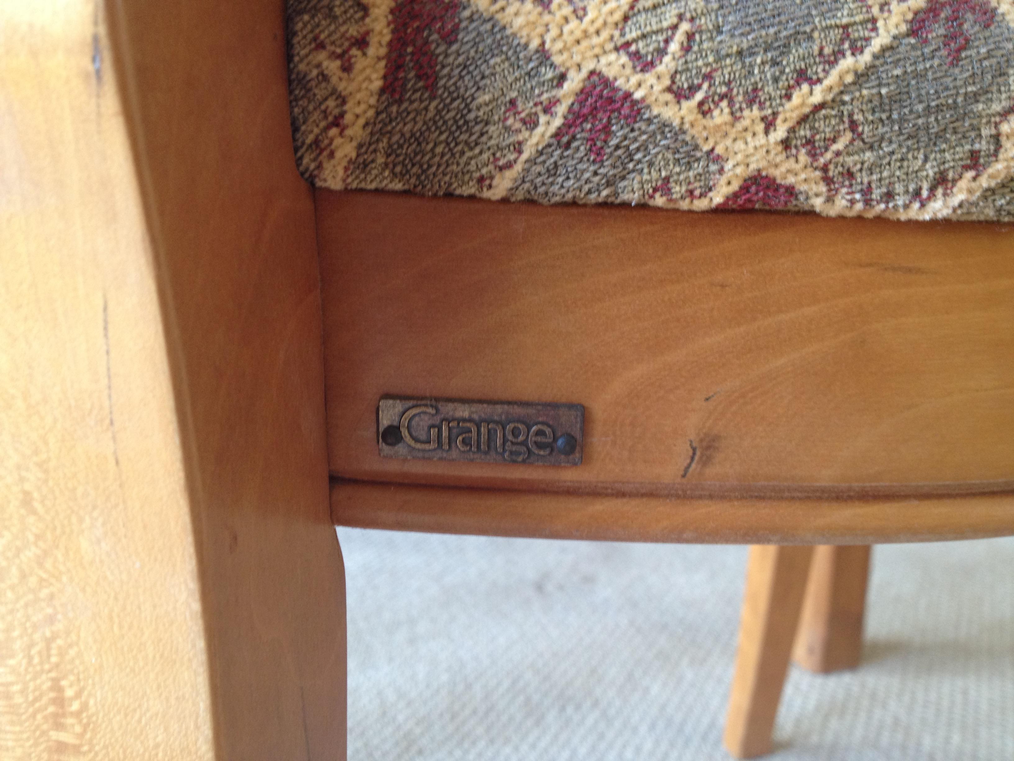 Grange Furniture Directoire Rochambeau Chairs   Set Of 6   Image 5 Of 11
