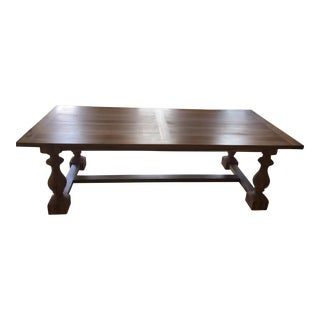 Restoration Hardware 17th C. Monastery Table For Sale