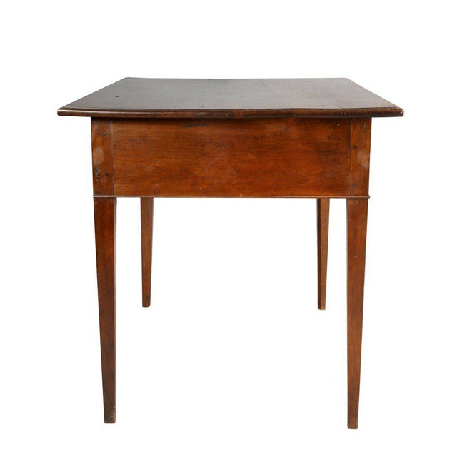 George III Walnut Table For Sale In Boston - Image 6 of 10