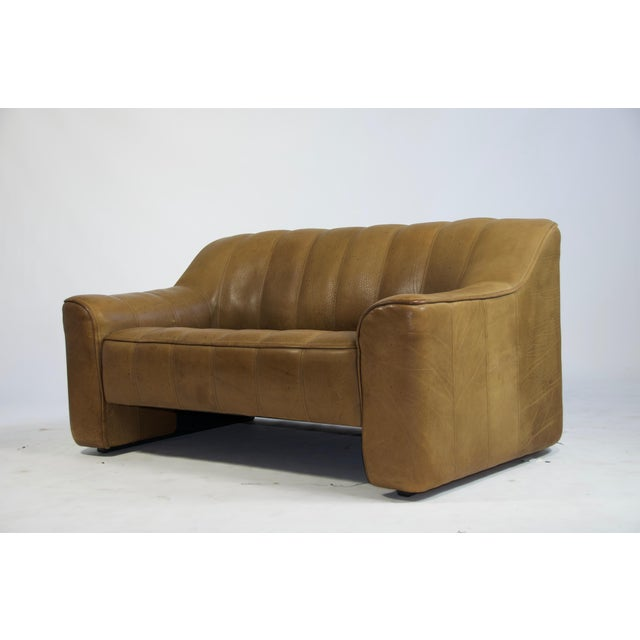 Mid-Century Modern De Sede Ds44 Leather Sofa For Sale - Image 3 of 8