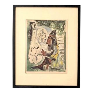 Vintage Framed Picasso Print For Sale