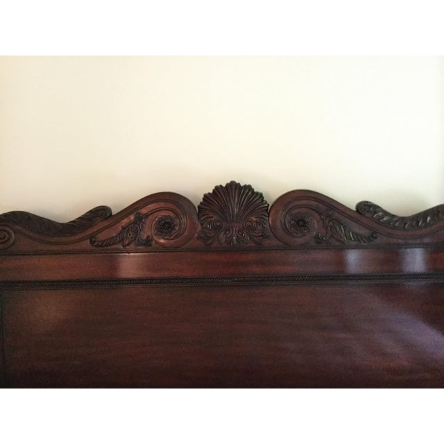 Ralph Lauren Safari Four-Post Mahogany King Bed For Sale In New York - Image 6 of 7
