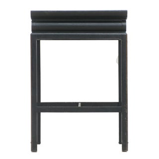 Chinoiserie Black Lacquer Accent Table Preview