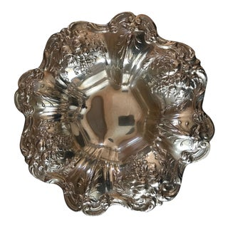 Reed & Barton Francis I Sterling Nut Candy Dish