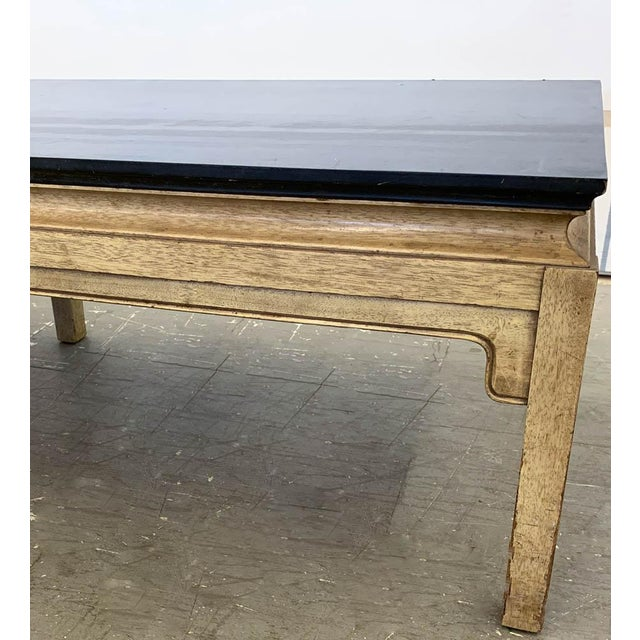 Mid 20th Century Hollywood Regency Asian Coffee Table For Sale - Image 5 of 6