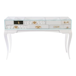 York White Console From Covet Paris For Sale