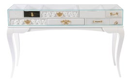 Image of Silver Console Tables