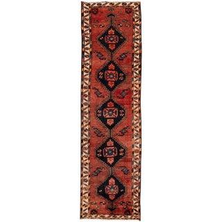 """Apadana-Vintage Hamadan Rug, 2'9"""" X 10'1"""""""
