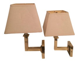 Image of Brass Sconces and Wall Lamps
