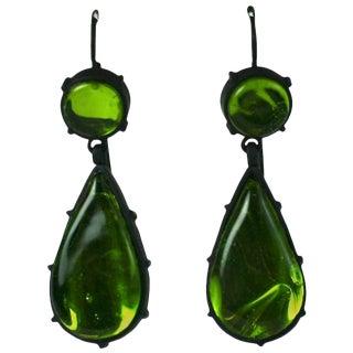 Mwlc Georgian Style Pendant Earrings For Sale