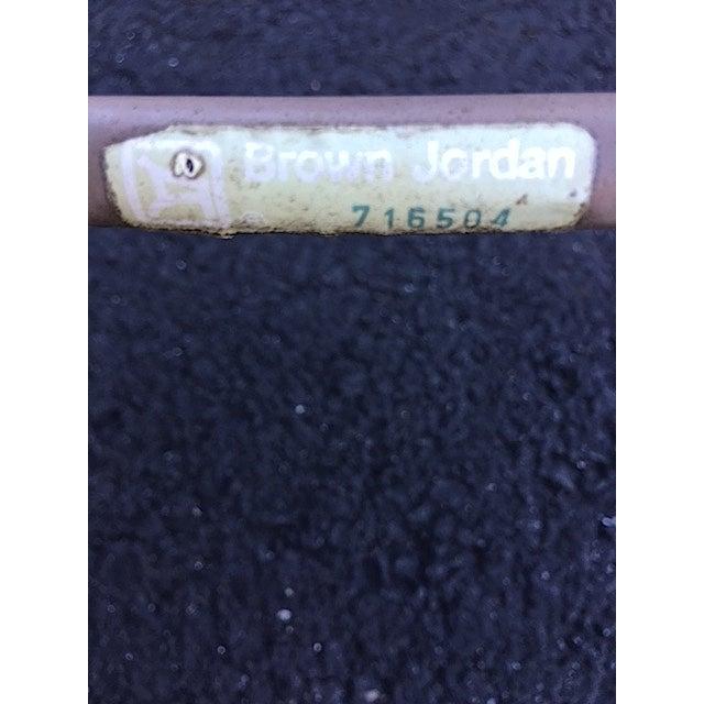 Vintage Brown Jordan Patio Chairs - Set of 5 - Image 8 of 8