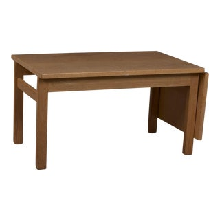 Hans Wegner for Getama Oak Side Table For Sale