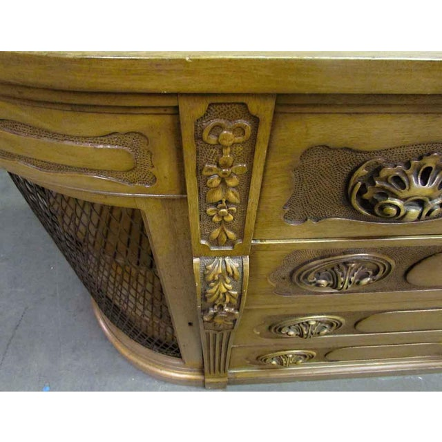 Antique Carved French Sideboard - Image 5 of 11
