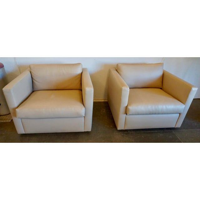 Charles Pfister for Knoll Lounge Chairs - a Pair For Sale - Image 10 of 10