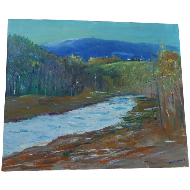 Modernist Nature Painting by H.L. Musgrave - Image 1 of 8