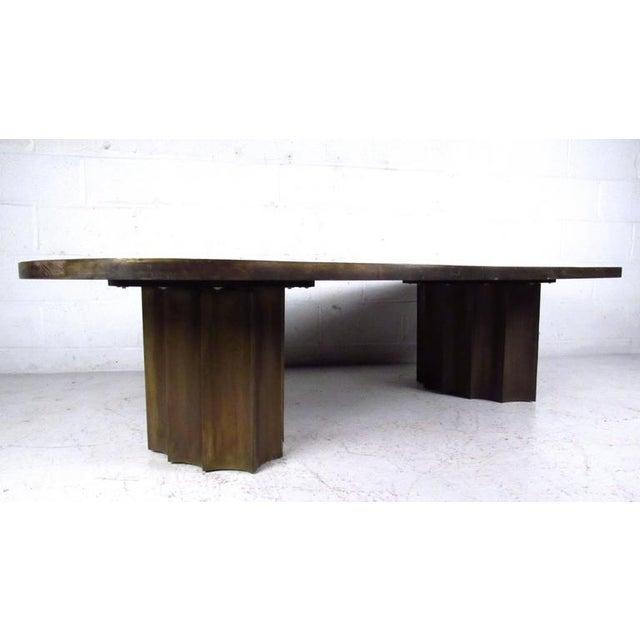Mid-Century Modern Vintage Philip & Kelvin Laverne Free Form Odyssey II Coffee Table For Sale - Image 3 of 11